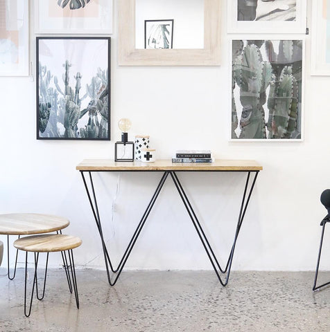 Astrid Black Console | Furniture