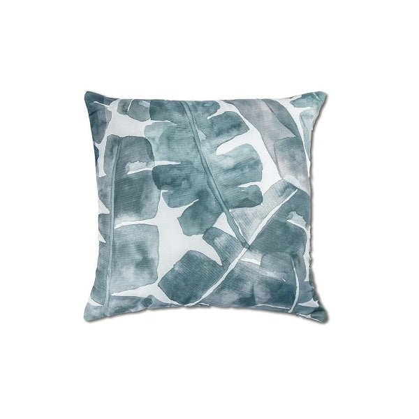 Banana Leaf Outdoor Cushion Grey