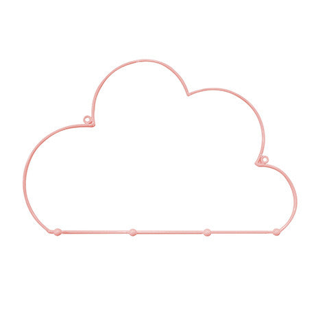 Decor | Cloud Hook Baby Pink
