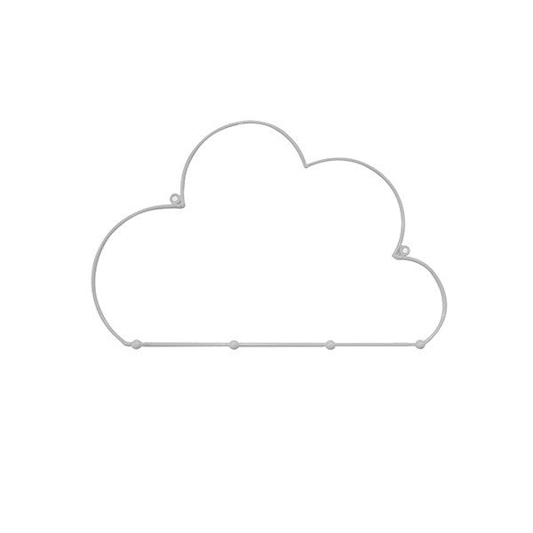 Decor | Cloud Hook Grey