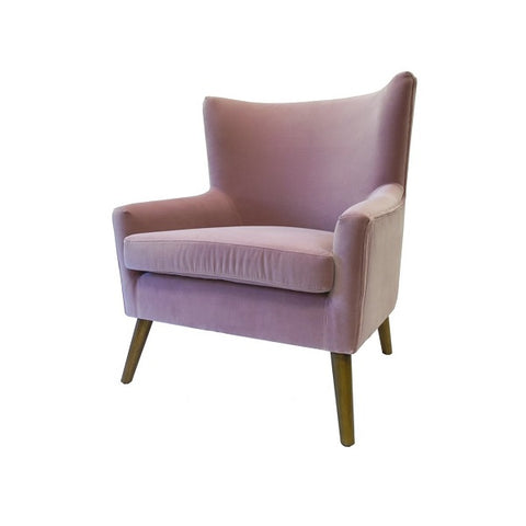 Florence Rose Velvet Chair | Furniture