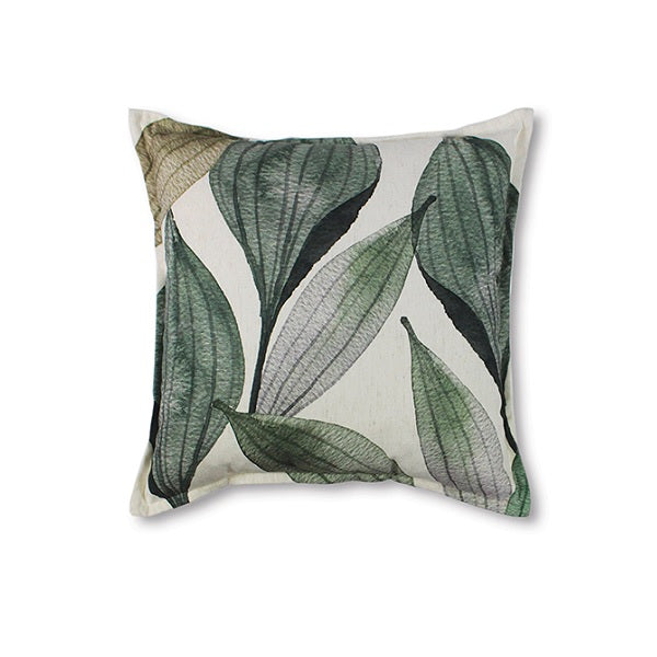 Seed Pod Cushion Green