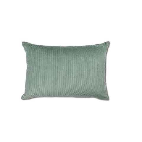 Williamsburg Corduroy Cushion Seafoam