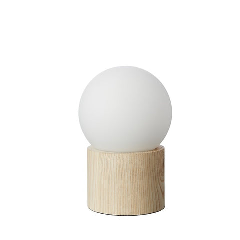 Milk & Sugar | Harley Lamp Timber Small