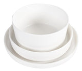 Mint Home | Sophia Platter - White Matte | Kitchenware
