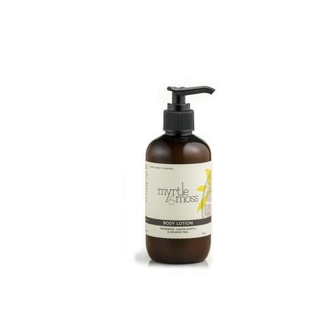 Myrtle & Moss | Mandarin, Lemon Myrtle & Orange Peel Body Lotion