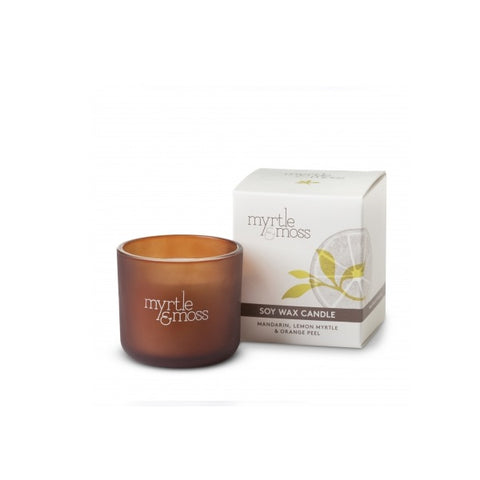 Myrtle & Moss | Mandarin, Lemon Myrtle & Orange Peel | Candle Mini