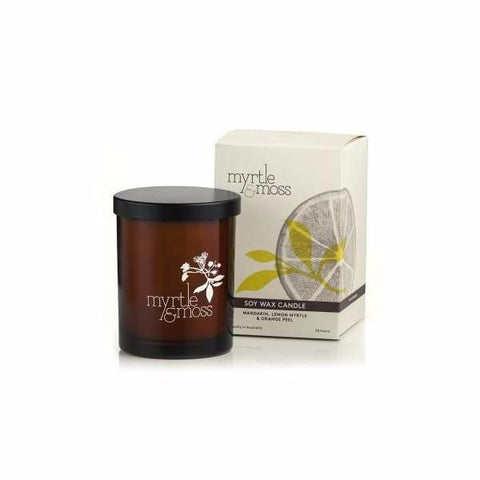 Myrtle & Moss | Mandarin, Lemon Myrtle & Orange Peel | Candle