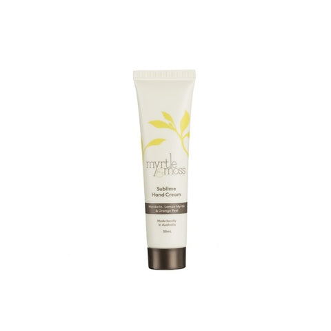 Myrtle & Moss | Mandarin, Lemon Myrtle & Orange Peel Hand Cream Mini