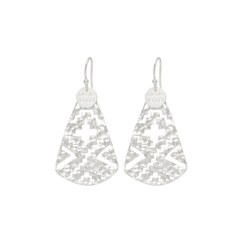 NF | Arrow Anka Silver Earring | Jewellery