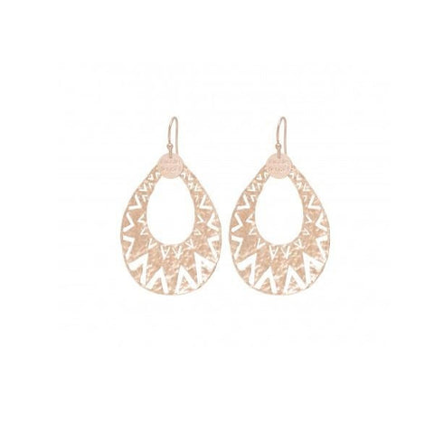 NF | Arrow Aztec Rose Gold Earring LRG | Jewellery