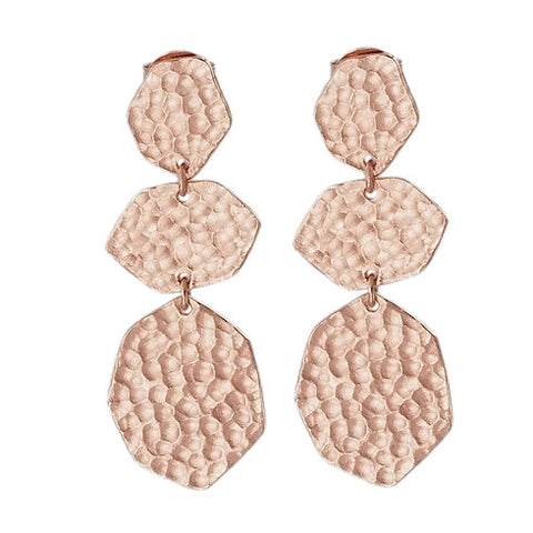NF | Bronte LRG Rose Gold Earring | Jewellery