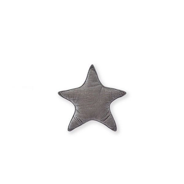 Nana Huchy | Velvet Star Cushion Grey 25cm