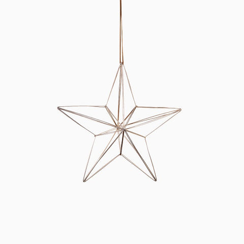 Ornament - Nordic Metal Hanging Star Large | Christmas