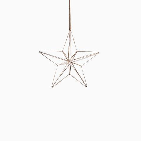 Ornament - Nordic Metal Hanging Star Medium | Christmas