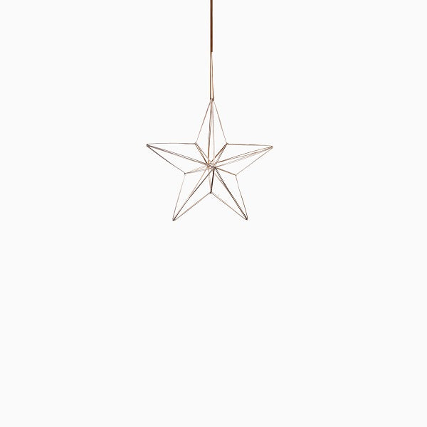 Ornament - Nordic Metal Hanging Star Small | Christmas