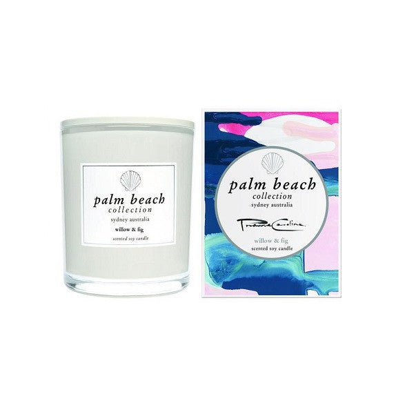 Palm Beach | Limited Edition Prudence Caroline Willow & Fig | Candle