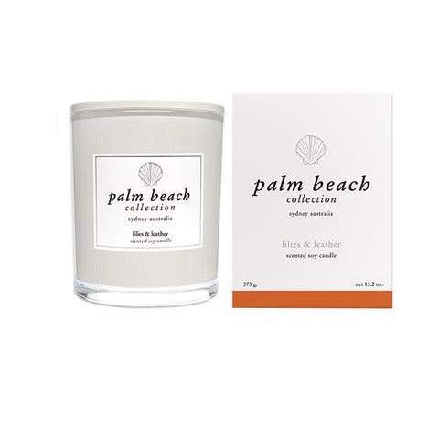 Palm Beach | Lilies & Leather | Candle