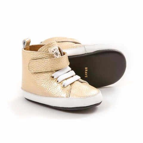 Pretty Brave | Goldi Baby Hi-Top Shoes