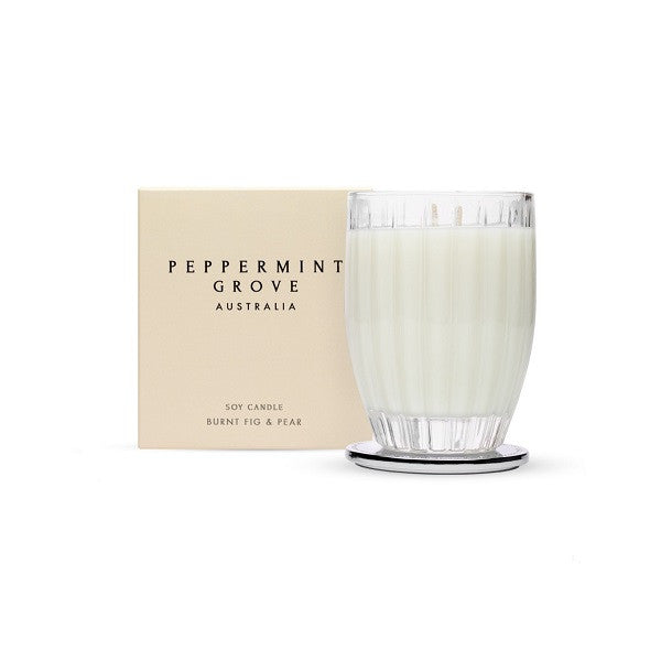 Peppermint Grove Australia | Burnt Fig & Pear | Candle