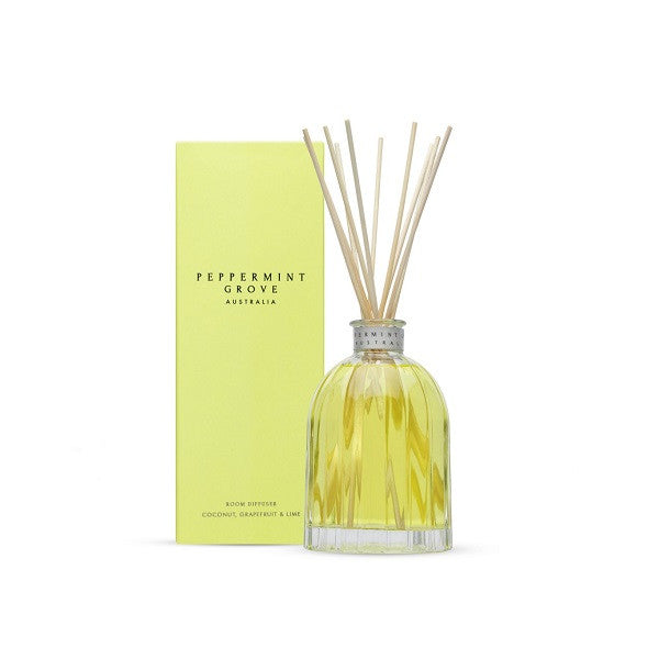 Peppermint Grove Australia | Coconut, Grapefruit & Lime | Diffuser