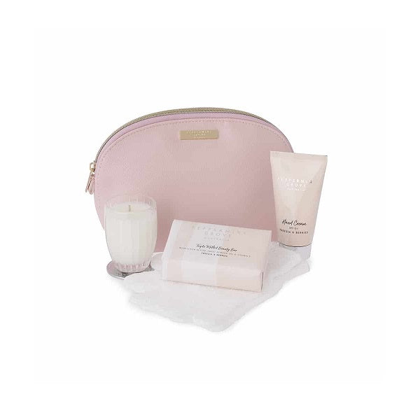 Peppermint Grove Australia | Beauty Bag Gift Set Freesia & Berries
