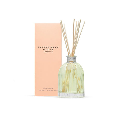 Peppermint Grove Australia | Rasberry, Pineapple & Peach | Diffuser