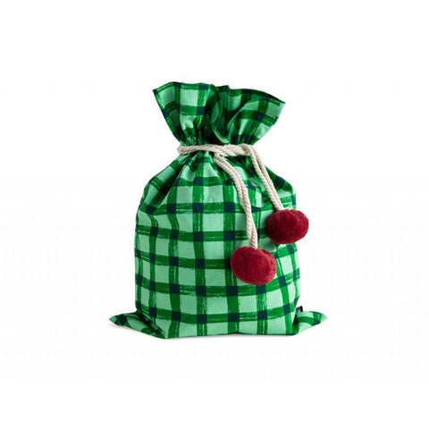 Sack Me! | Swag Sack Green Gingham
