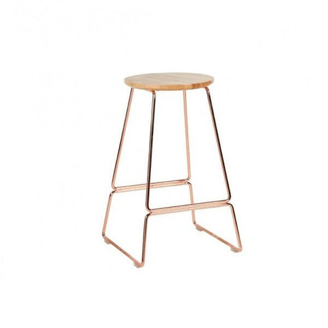 Spice Stool Copper 65cm | Furniture
