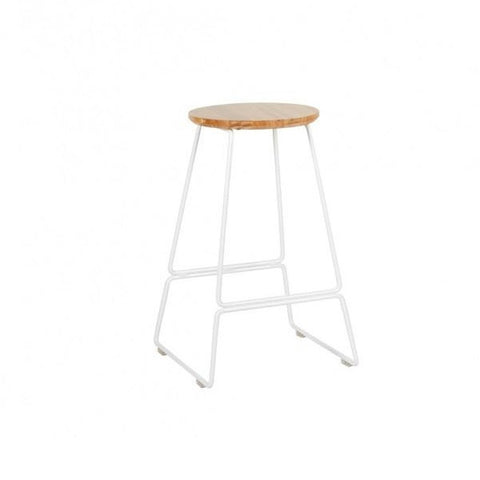 Spice Stool White 65cm | Furniture