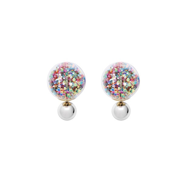 Fantasy Bubble Earrings - Confetti Multi