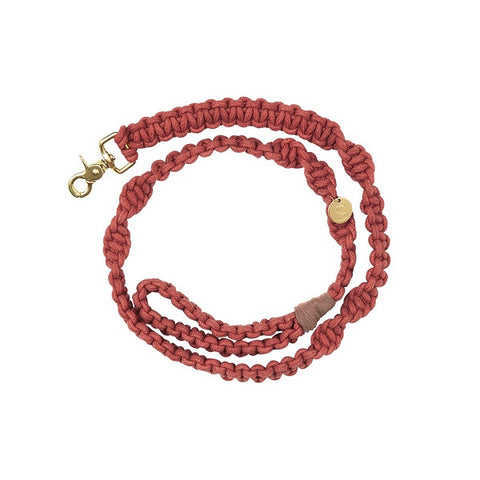 Sebastian Says | Lead - Macrame Terracotta Red