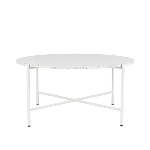 Bijoux Terrazzo Round Coffee Table Nougat | Furniture