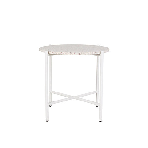 Bijoux Terrazzo Round Side Table Rosa | Furniture