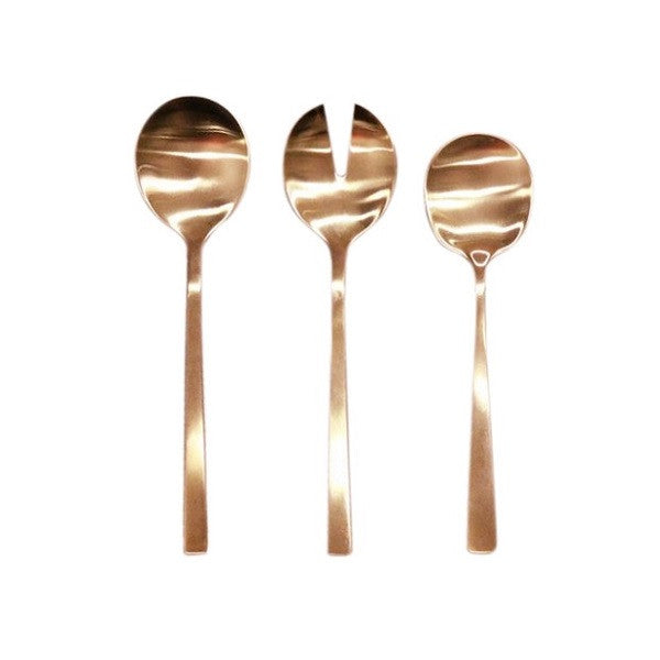 Brushed Serving Set Copper | Kitchenware
