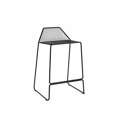 Linear Stool Black | Furniture