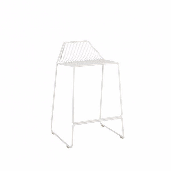 Linear Stool White | Furniture