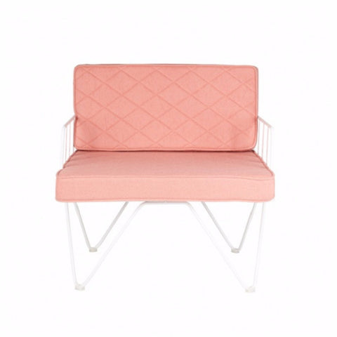 Loop Armchair Coral Pink | Furniture