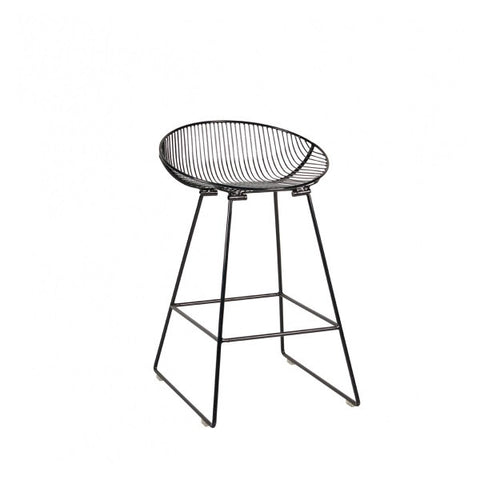 Pop Stool - Gloss Black | Furniture