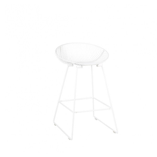 Pop Stool - Gloss White | Furniture
