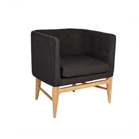 Sofia Armchair Black | Furniture