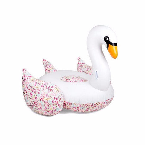 Luxe Float Swan Flowers | Outdoor + Pool