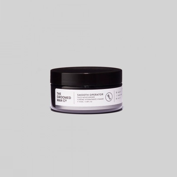 The Groomed Man Co. | Smooth Operator Face Moisturiser