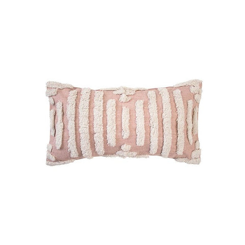 Topaz Cushion - Rosewater