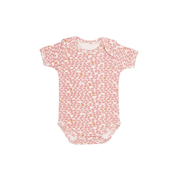 Trixie | Body Short Sleeves - Pebble Pink