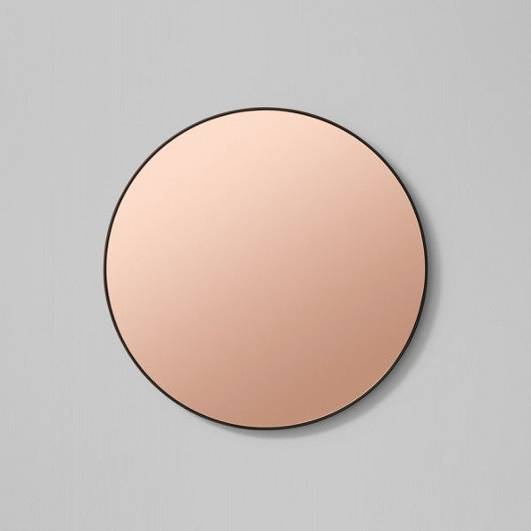 Middle of Nowhere | Flynn Round Mirror Black / Dusk - Various Sizes