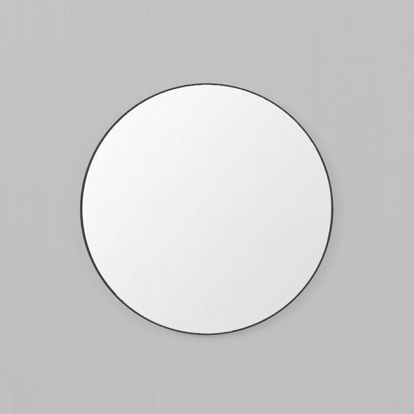 Middle of Nowhere | Flynn Round Mirror Black - Various Sizes