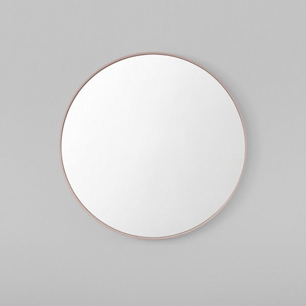 Middle of Nowhere | Flynn Round Mirror Blush - Various Sizes