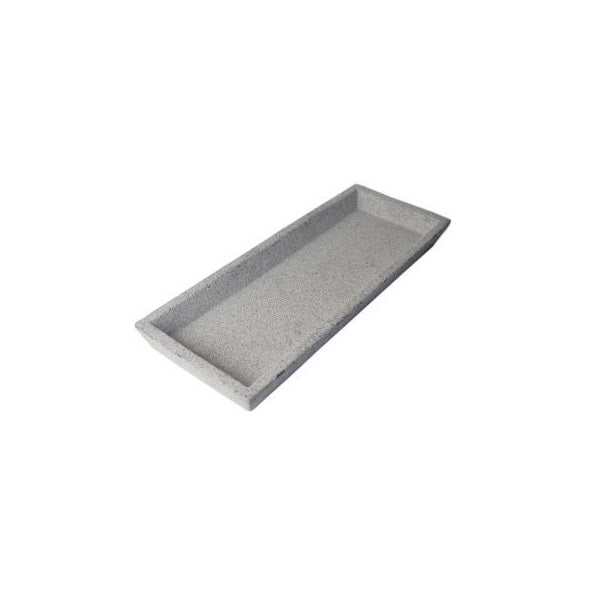 ZAKKIA | Concrete Rectangle Tray Natural | Decor