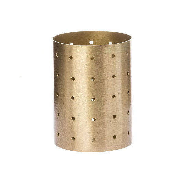 ZAKKIA | Holey Vessel Brass | Decor